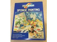 NEW GALT TOYS SPONGE PAINTING