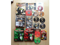 COMMAND AND CONQUER RED TIBERIAN SUN/COUNTERSTRIKE/ AFTERMATH BIG BOX PC GAMES