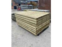 New Timber Tanalised Garden Fence Panels