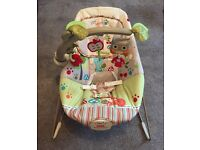 Fisher-Price Woodsy Friends Comfy Time Bouncer - CONDITION AS NEW