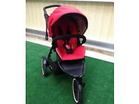 Phil and ted navigator double buggy with cocoon and rain cover . Pram . Pushchair. Stroller