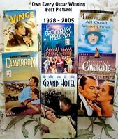 OWN EVERY OSCAR WINNING BEST PICTURE!