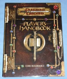 Dungeons & Dragons 'Players Handbook Core Rulebook 1' (2000)