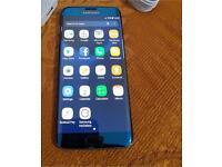 Samsung Galaxy s7 edge black 32gb unlocked see description pls