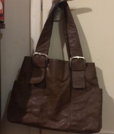 3 x Various Hand/Shoulder Bag's £5 Each As new Condition, one is Leather