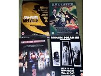 4 DVD Box sets - Polanski, Melville, Griffith, Brass