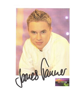 James Tanner-signed photo - Pose 2