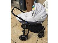 Pram Stroller Jogger and Car Seat