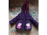 Peppa Pig Coat 12-18months