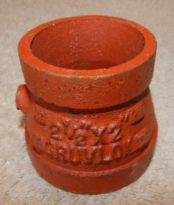 Gruvlok - 2-12 X 2 Concentric Reducer Fig. 7072  New Other Ts1
