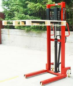 Manual Walkie Stacker Hand Truck Forklift Reach Pallet  153005 153119