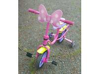 Minnie mouse small girl's bike