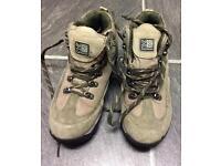 Karrimor Kab Aspen II Weatherlite walking boots khaki size 5