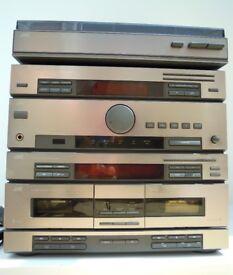 Vintage JVC DR E55L stereo unit