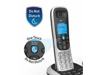 BT2600 Cordless DECT Phone with Answer Machine - Black/Silver