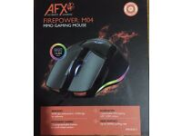 AFX FIREPOWER M04 MMO GAMING MOUSE