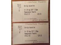 2x shirley valentine tickets