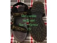 Karrimor size 12 mens sandals