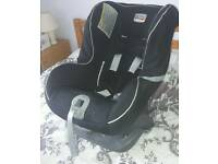 Britax group 0+ car seat exc condition