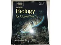 A-Level Biology Textbook Eduqas (WJEC) Year 2