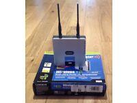 Unused! Linksys WRT54GR Wireless-G Broadband Router with RangeBooster