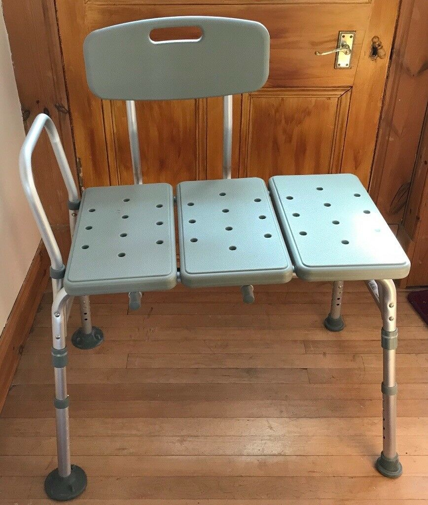 Bath or shower transfer bench, mobility, disabled aid | in Sauchie ...