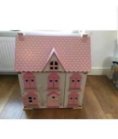 Rosebud Cottage dolls house ELC