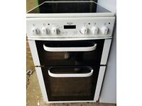 Bush 50cm wide electric cooker - FREE DELIVERY