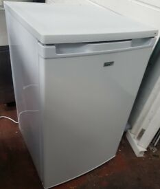 LEC R5010W Under counter Fridge Freezer, Mini Fridge- White