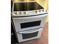 TRICITY BENDIX 60cm double electric cooker