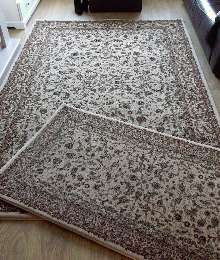 QUALITY DUNELM MILL ORIENTAL RUGS 1 LARGE 1 SMALL