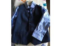 Boys navy suit