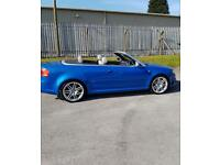 AUDI RS4 2007 B7 SPRINT BLUE CONVERTIBLE ONLY 55,000 MILES, FSH - FRONT END DAMAGED