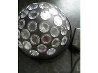 Rotating LED Disco Party Dome Light