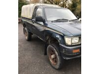 wanted Toyota hilux pickup 2wd/4wd, any age, diesel
