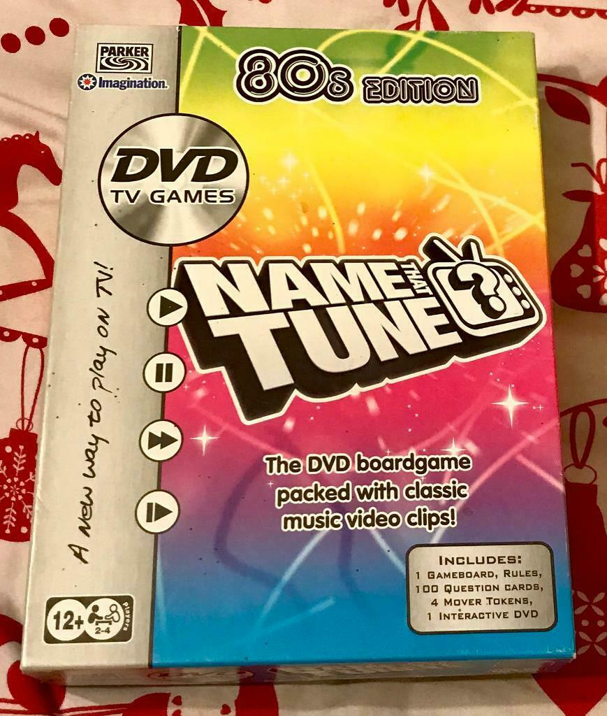 Name That Tune 80s Edition DVD Trivia Quiz Board Game  Complete And VGC  |  in Poole, Dorset | Gumtree