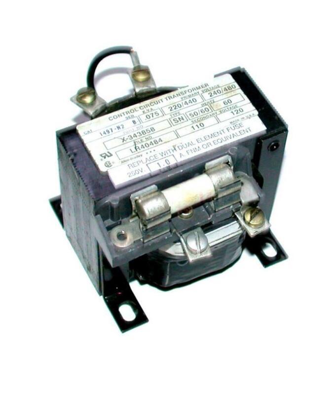 Allen Bradley 1497-N2  Control Circuit Transformer 0.75 KVA