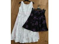 Good Quality Girls Dress and Skirt Age 10