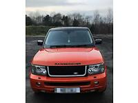 Range Rover sport hse overfinch upgrades one off. Not x6 ml range