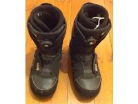 REDUCED FROM £50! Vans encore snowboard boots with boa system size US 10 L