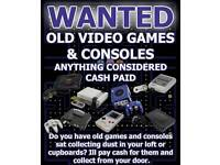 Nintendo / Sega Consoles and Games Vintage