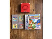 Mario Gameboy Advance bundle