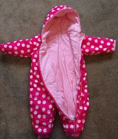 M&S, Snow suit, all in one, size 18-24months