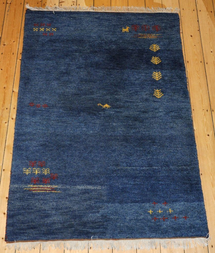 Ikea Rugs Sale Uk: Carpet, Rug, Indo Gabbeh, 100% Wool, Blue, 120 X 180cm