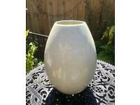 Pale green vase