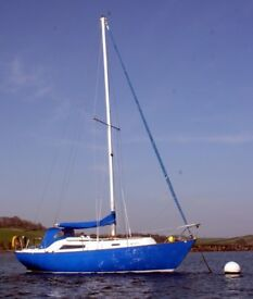 HALMATIC 30 LONG KEEL SAILING CRUISER , RECENT ENGINE , LOVELY £13950