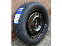 Spare wheel and tyre 175/65 R15