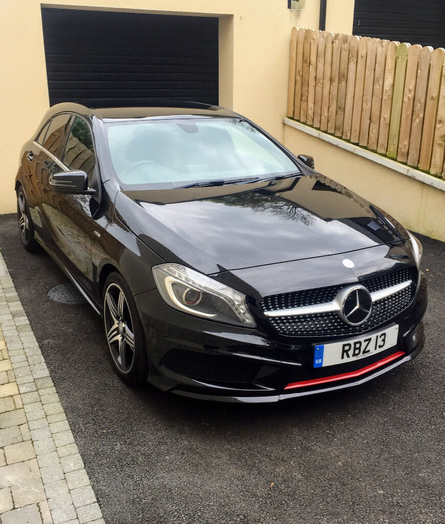 2014 mercedes a250 4matic engineered by amg in templepatrick county antrim gumtree. Black Bedroom Furniture Sets. Home Design Ideas