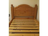 FREE Single pine bed in good condition
