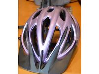 GYRO VENUS CYCLING HELMET - PURPLE SIZE 52-57cms